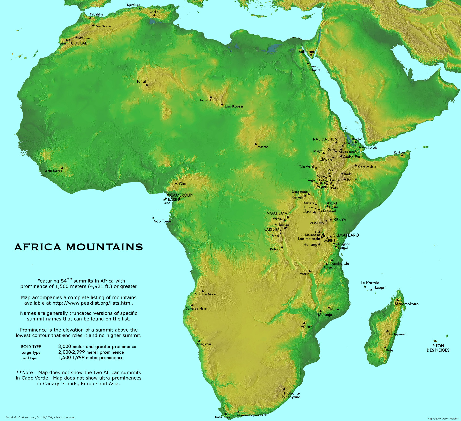 Maps of Africa Map Library Maps of the World