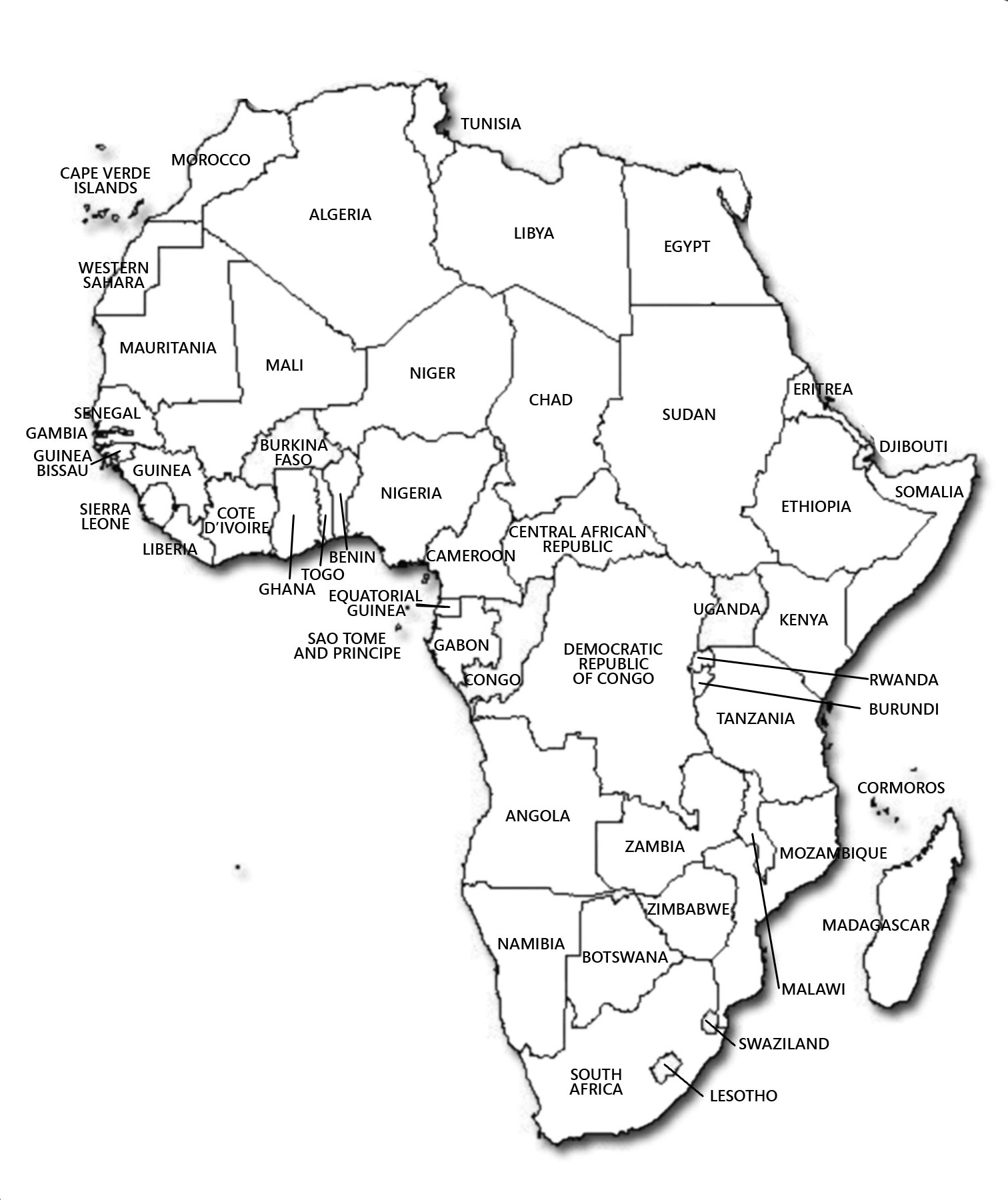 Picture of: Maps Of Africa Map Library Maps Of The World