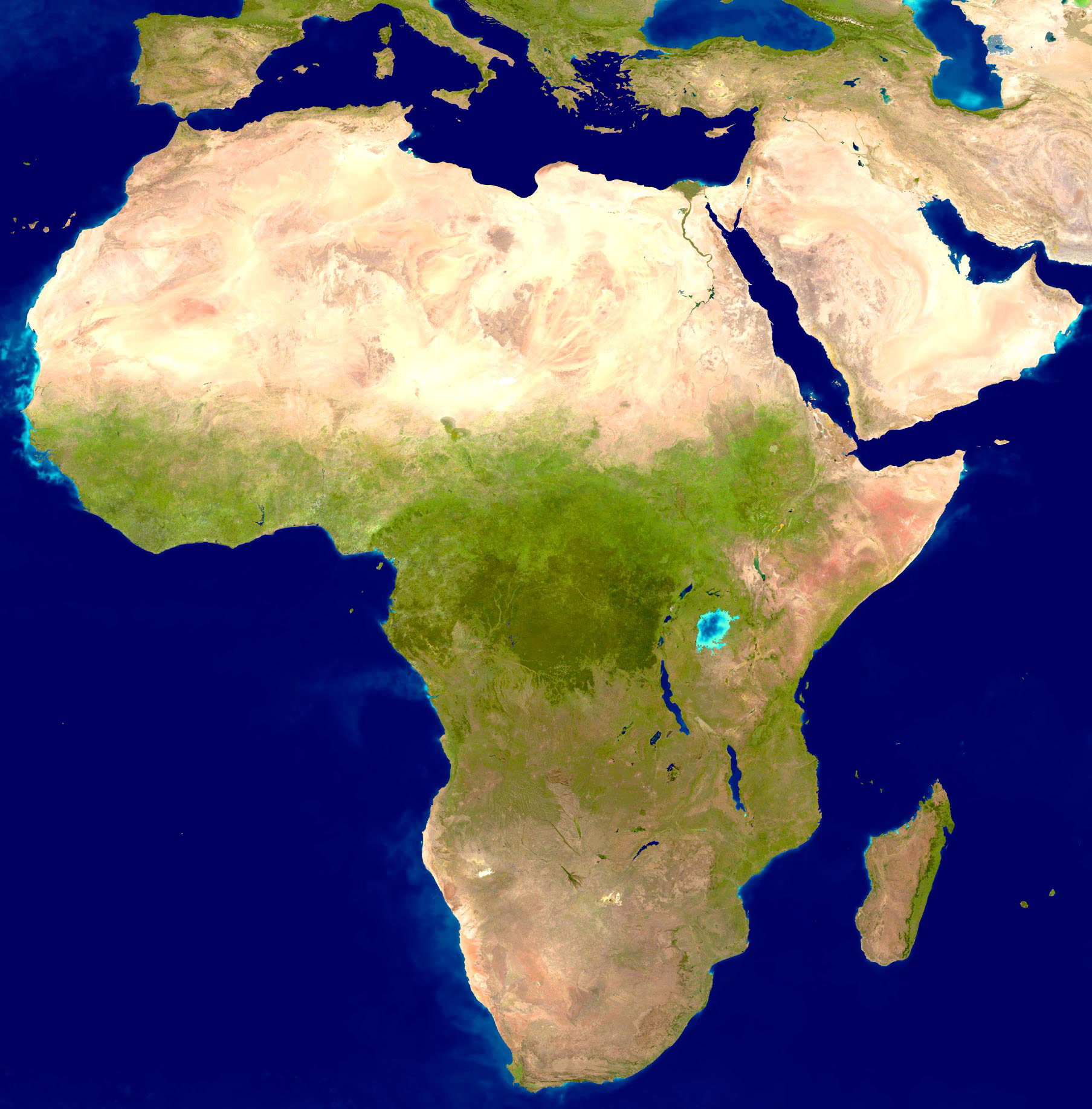 Maps of Africa | Map Library | Maps of the World