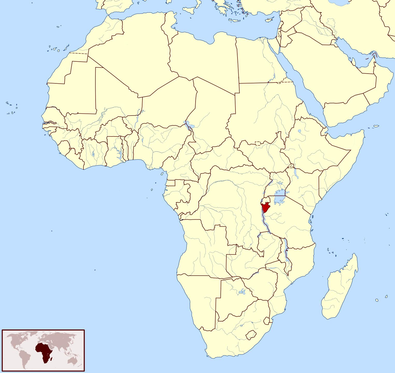 Maps of Burundi Map Library Maps of the World