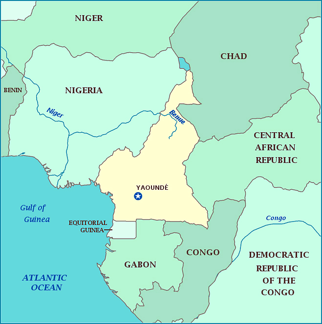 Maps of Cameroon | Map Library | Maps of the World