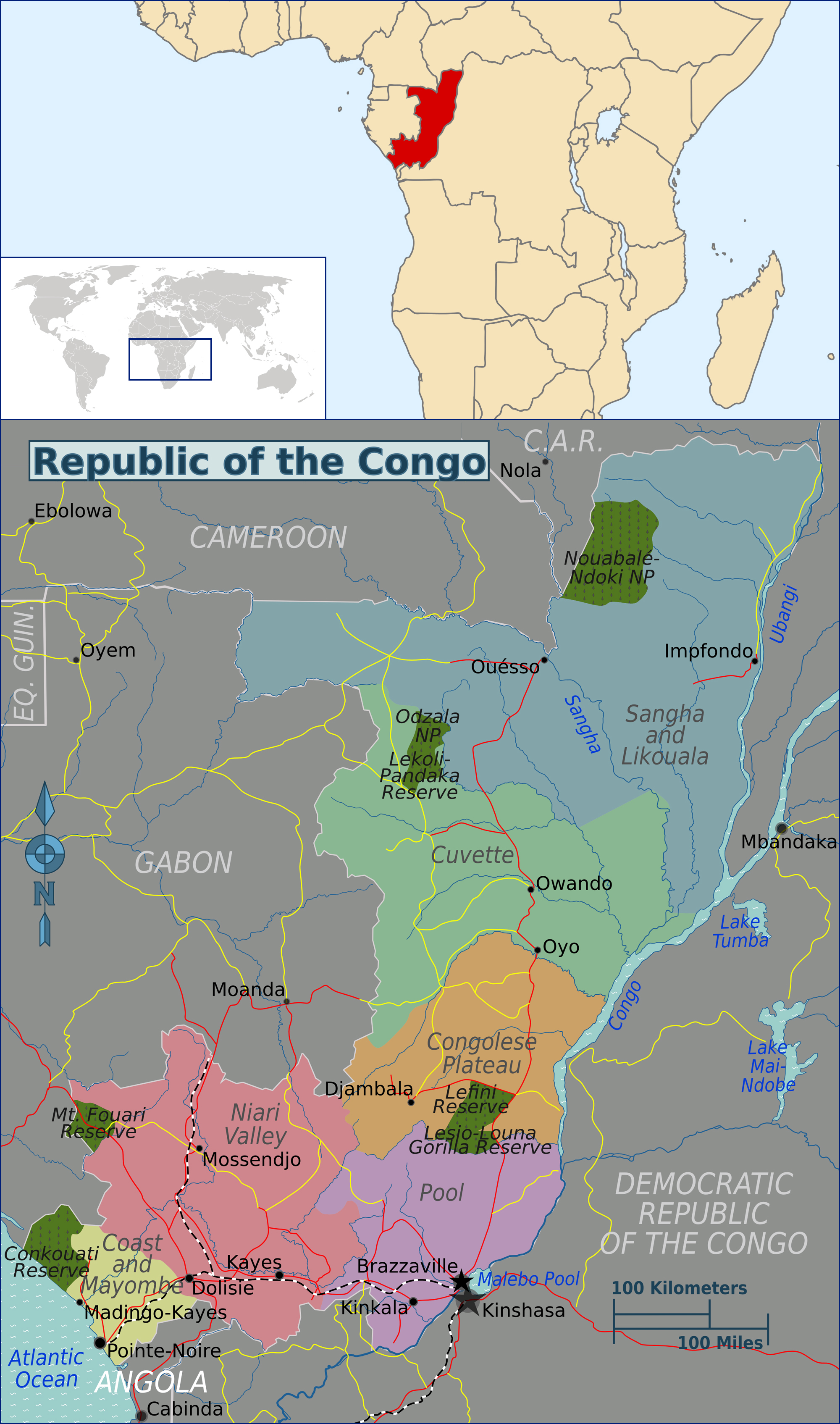 Maps of Congo Map Library Maps of the World