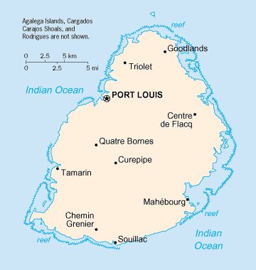 Maps Of Mauritius Map Library Maps Of The World - Mauritius maps