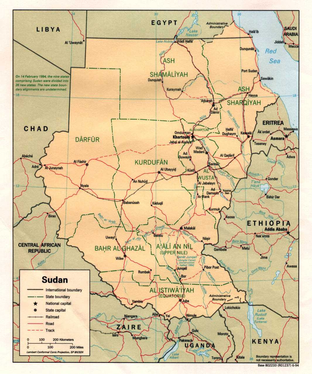 Political Map Of South Sudan.Maps Of Sudan Map Library Maps Of The World