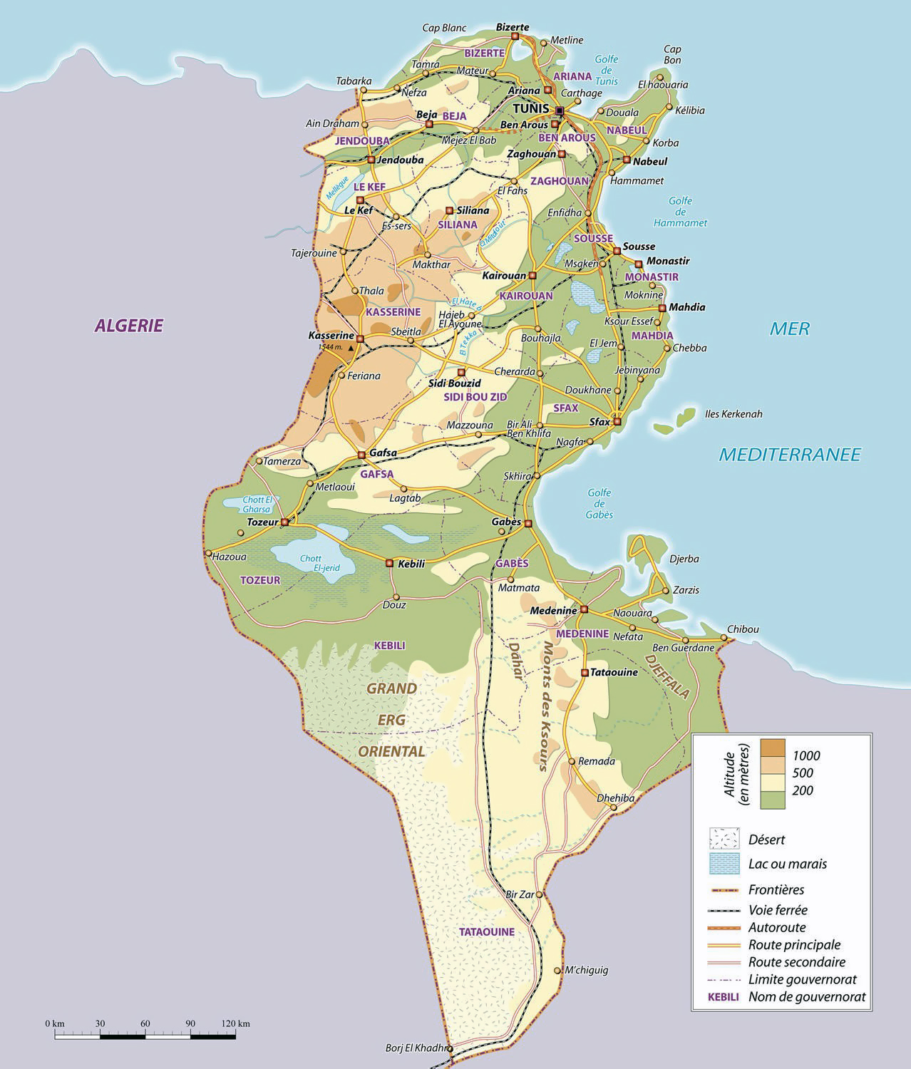 Maps of Tunisia | Map Library | Maps of the World