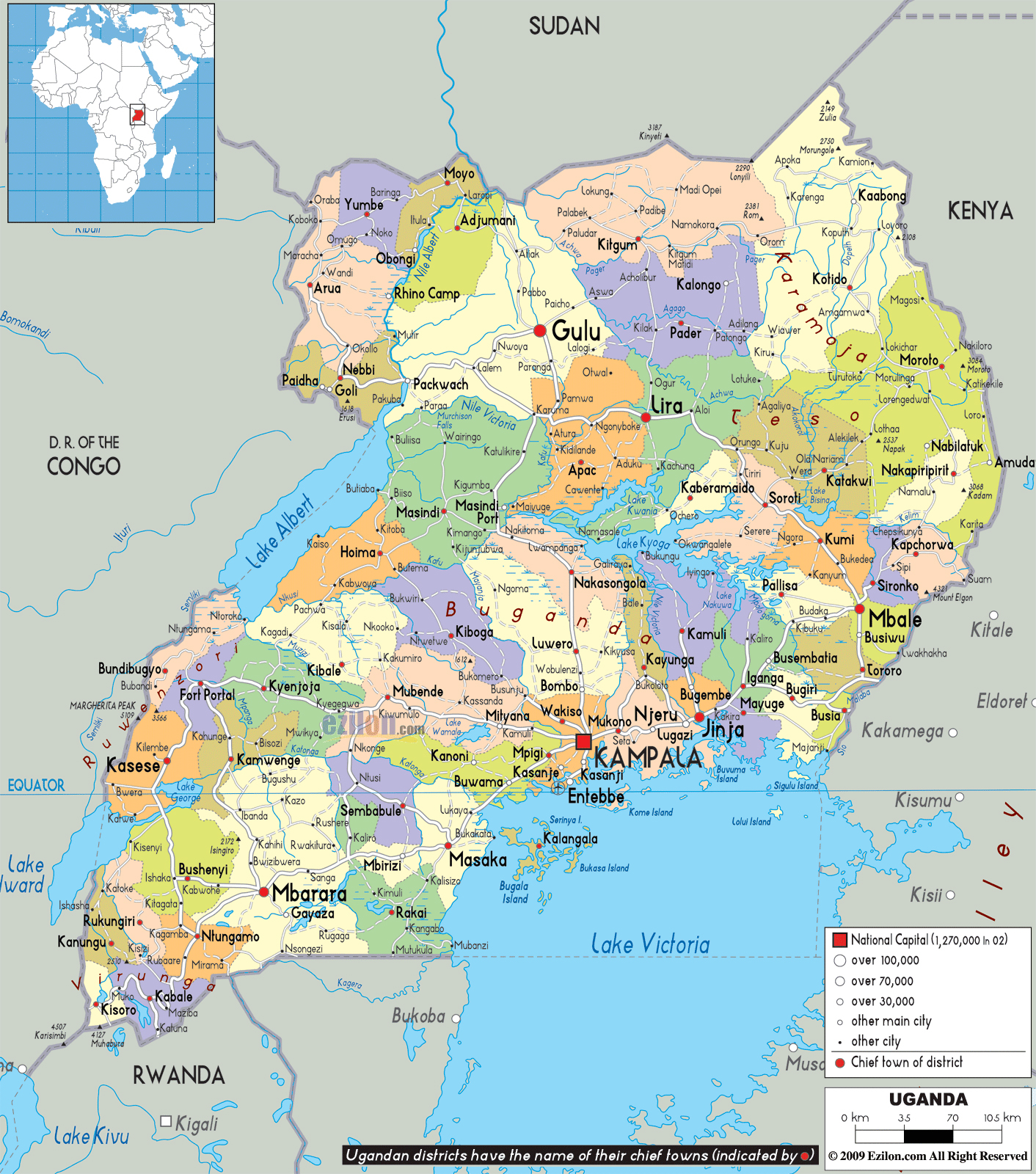A short study on the country of uganda
