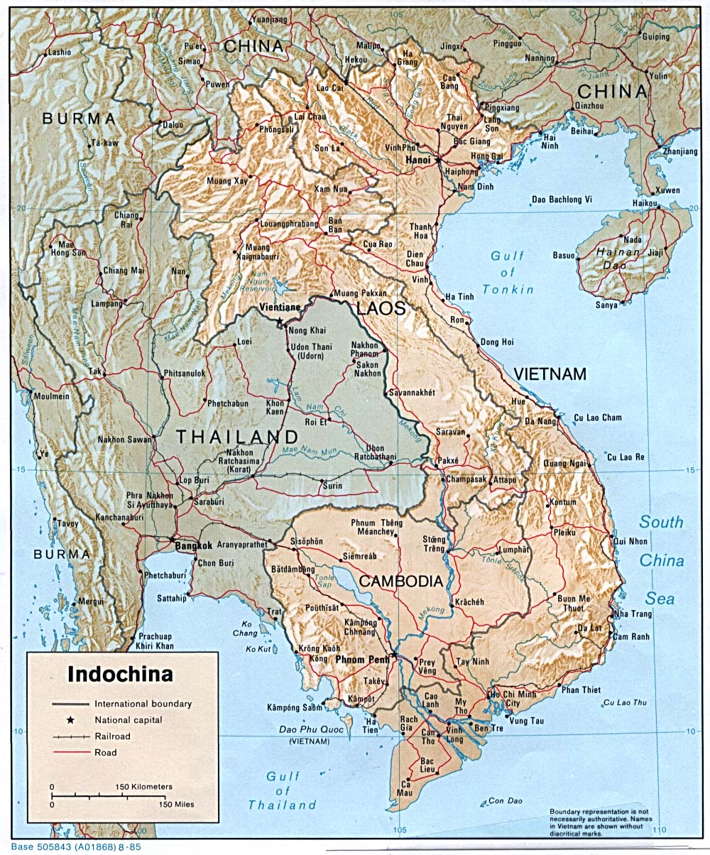 Maps of Cambodia Kampuchea Map Library Maps of the World
