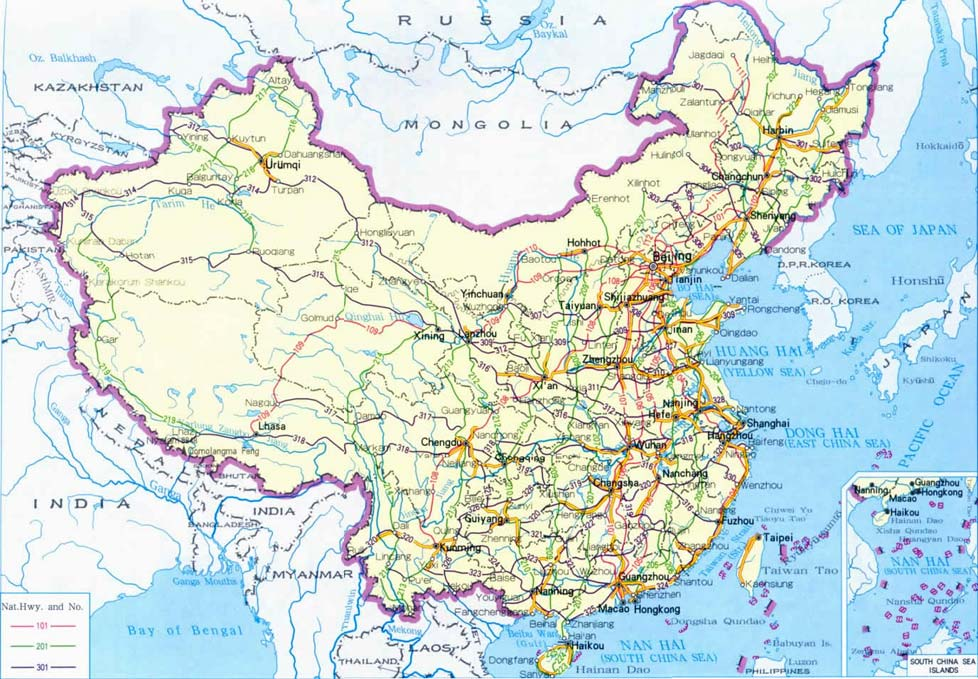 Maps of China | Map Library | Maps of the World