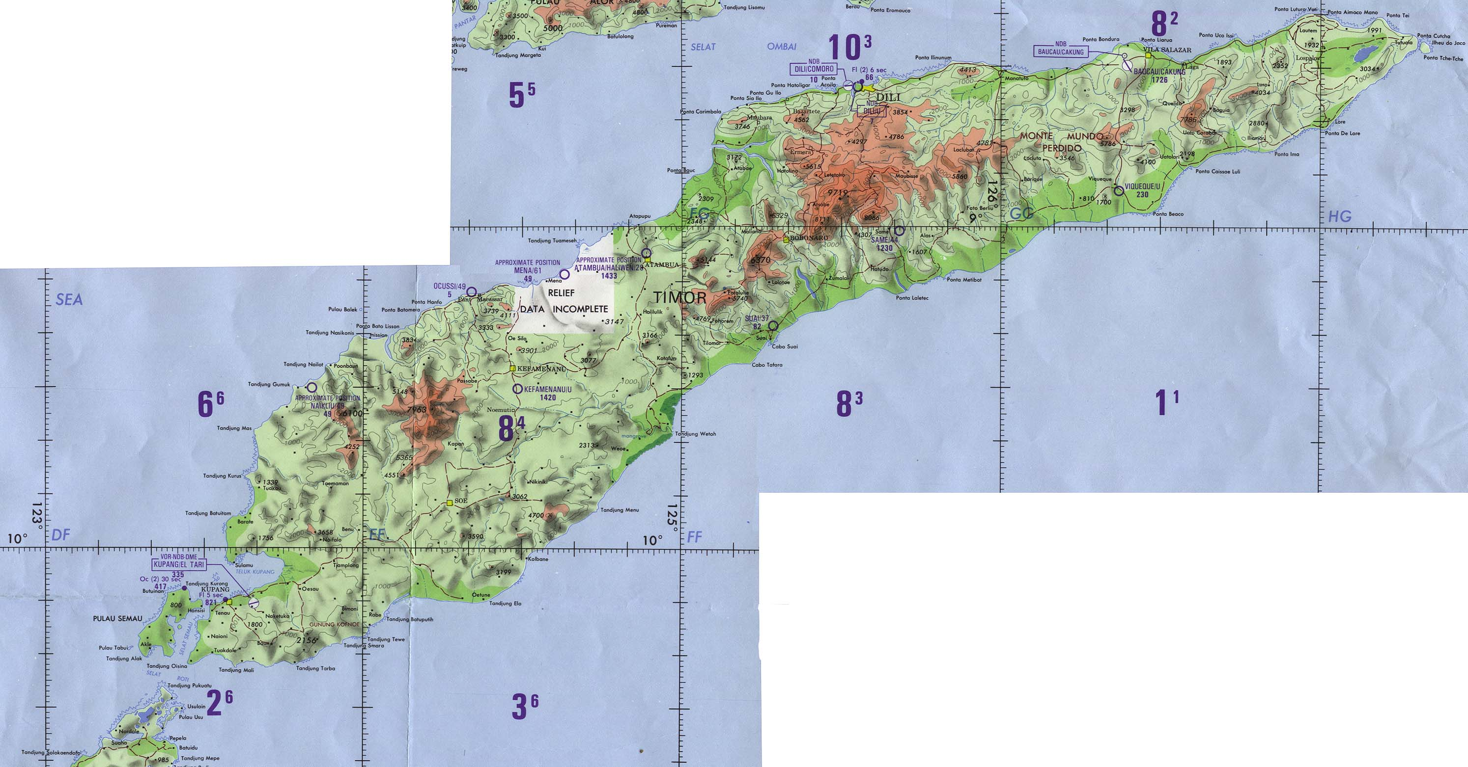 Maps of East Timor TimorLeste Map Library Maps of the World