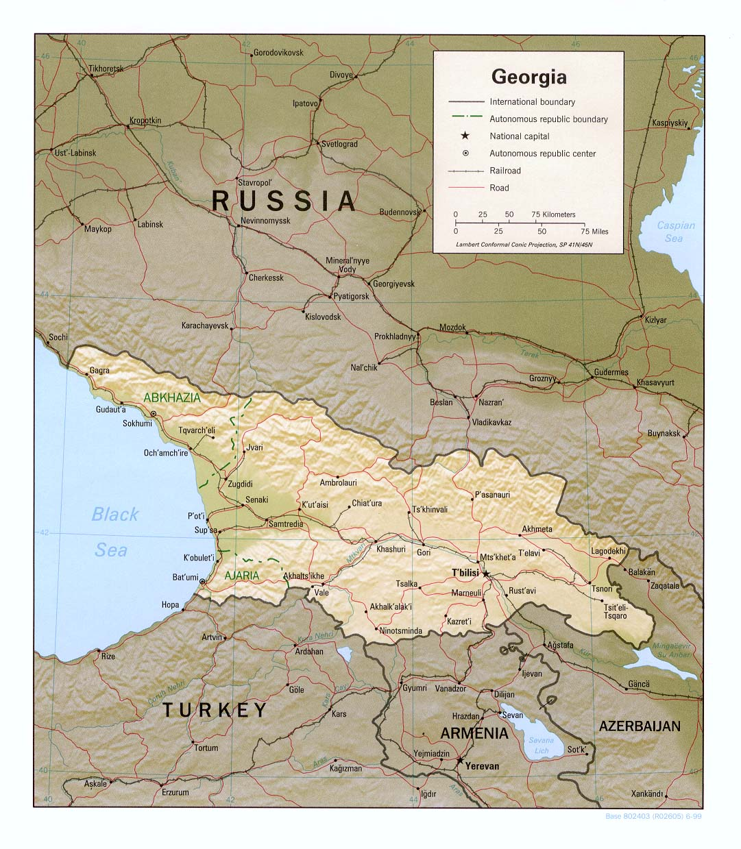 Dmanisi Georgia Map.Maps Of Georgia Map Library Maps Of The World