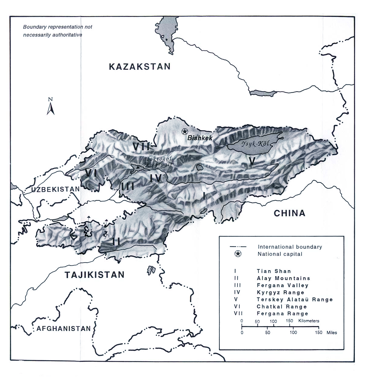 Maps of Kyrgyzstan | Map Library | Maps of the World