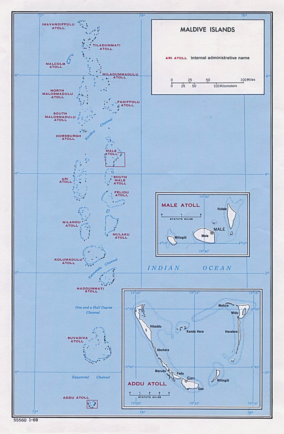 Maps Of Maldives Map Library Maps Of The World - Political map of maldives