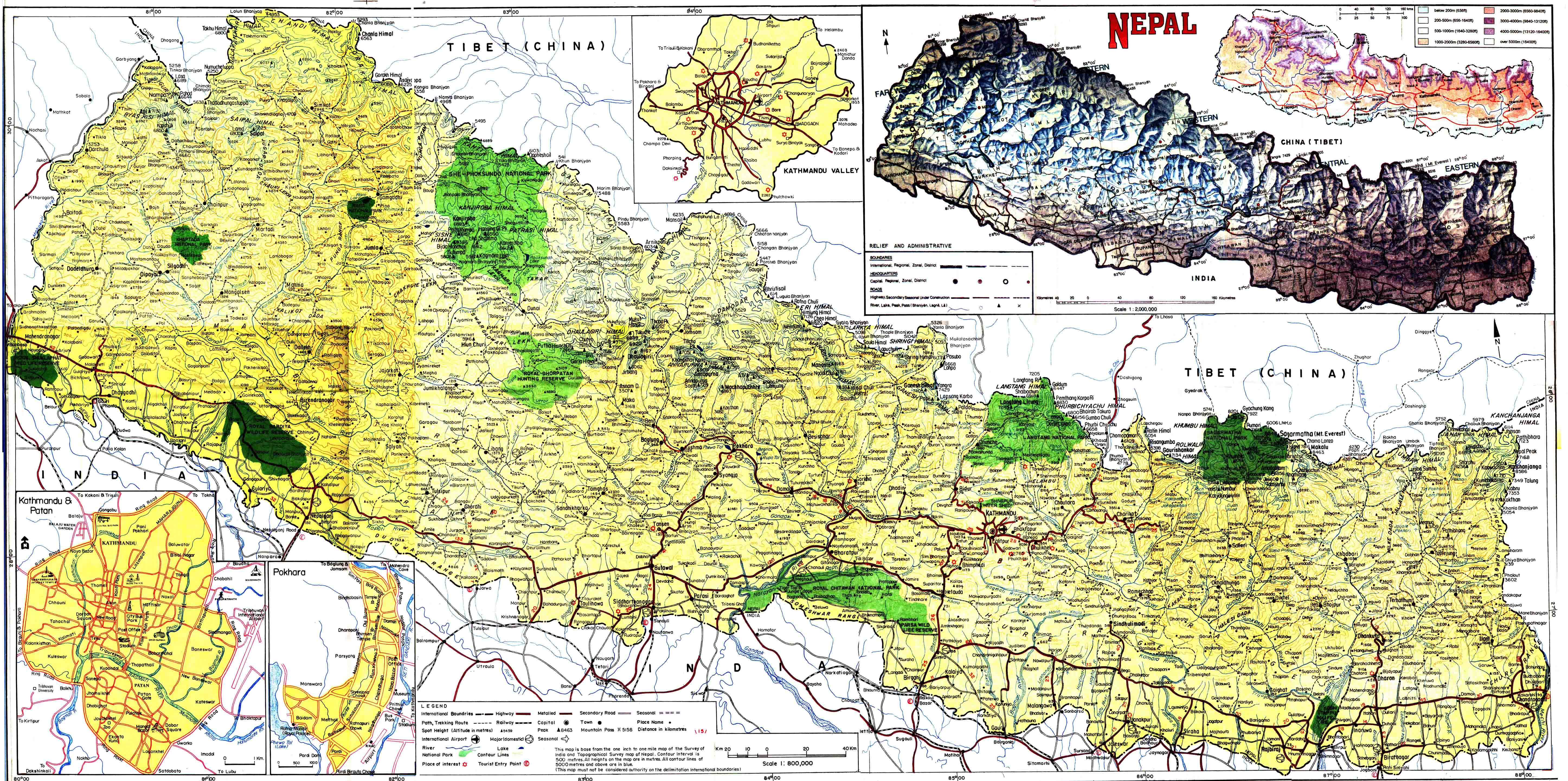 Damascus Asia Map Nepal Damascus World Map And Surrounding Cities - Nepal on map