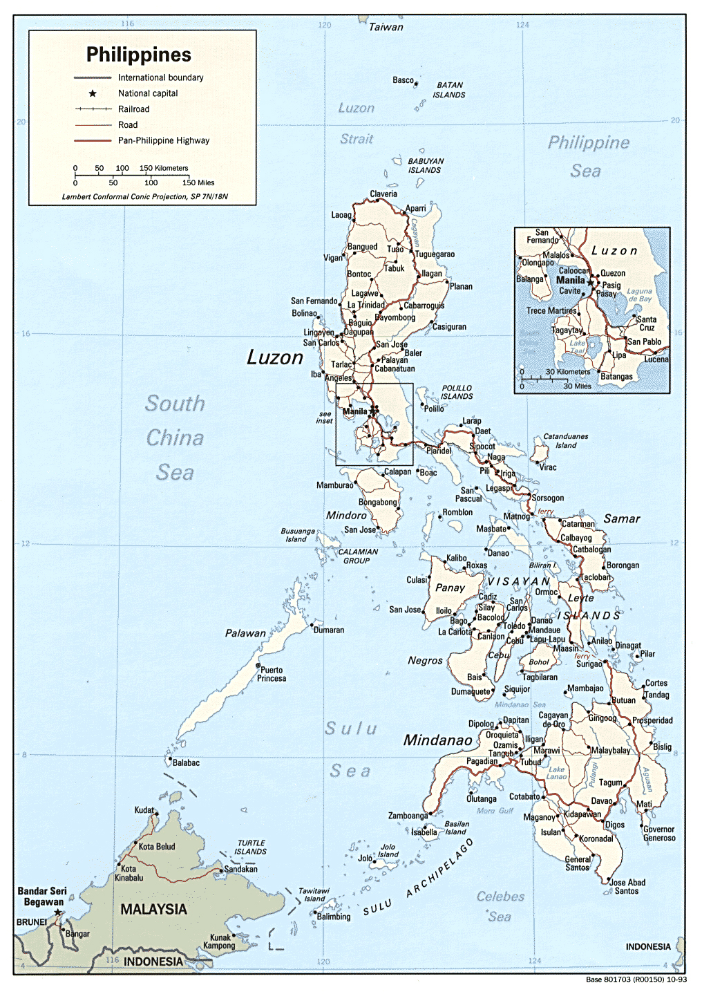 Maps of Philippine Map Library Maps of the World