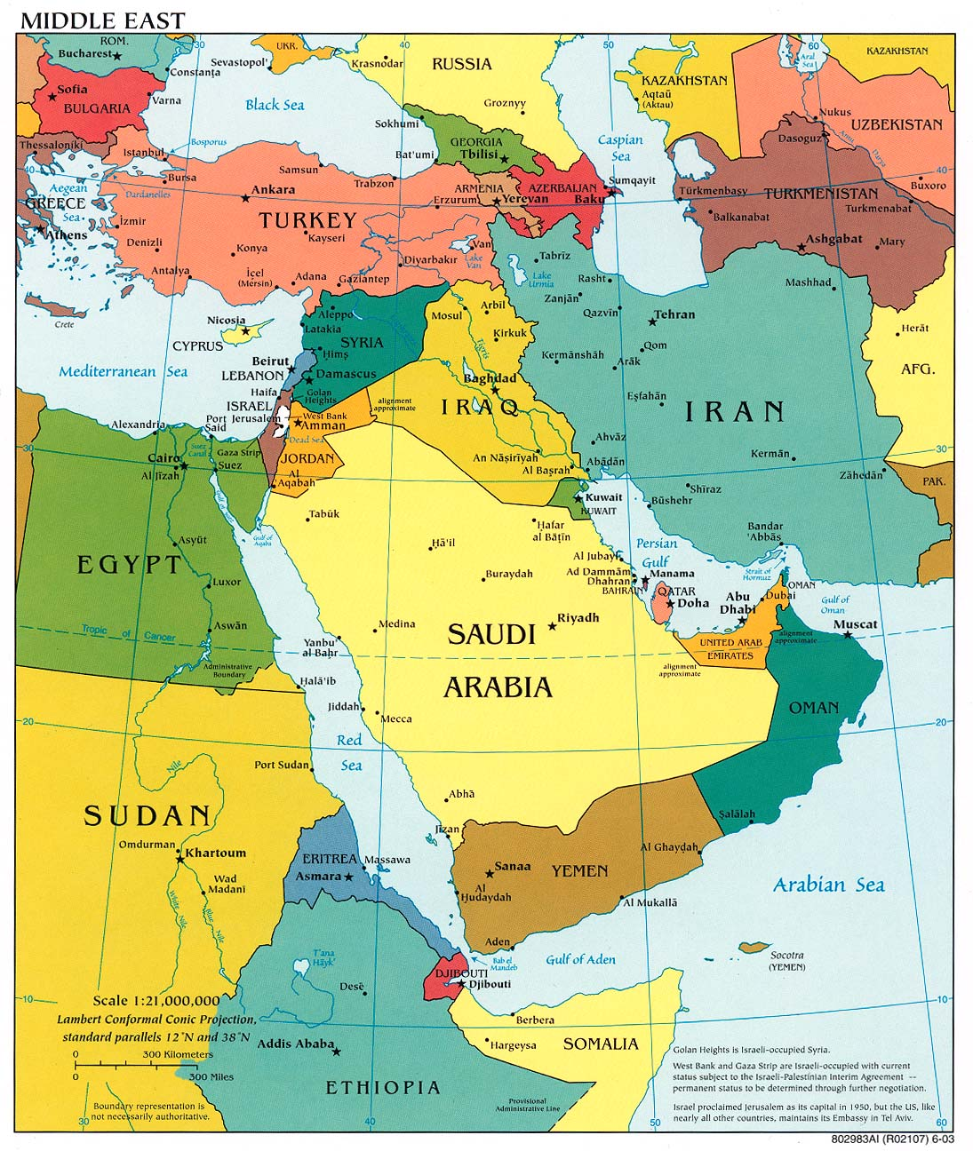 Maps of Saudi Arabia Map Library Maps of the World
