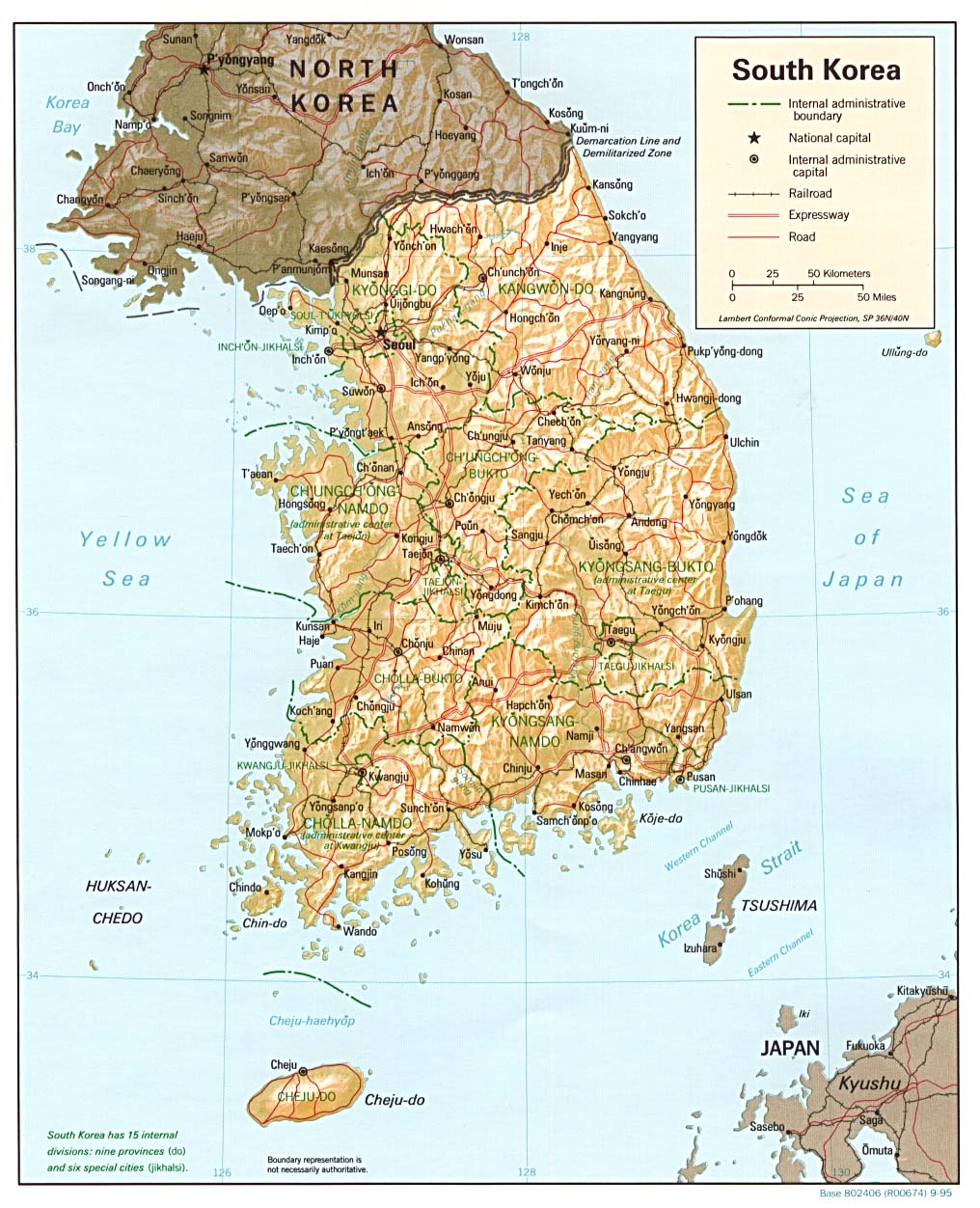Maps Of South Korea Map Library Maps Of The World - Map of south korea