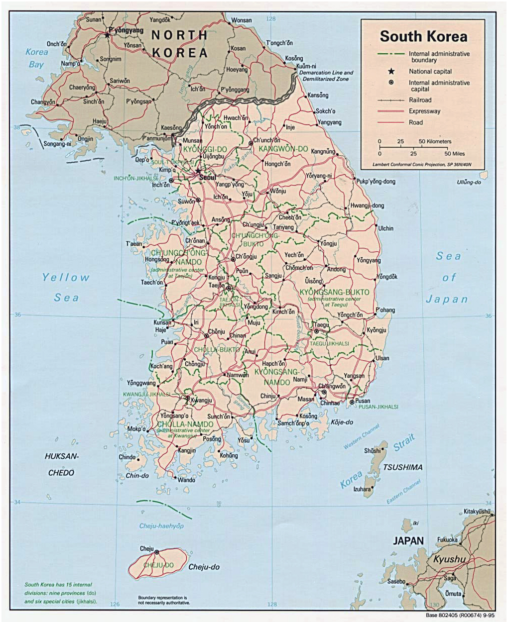 Maps Of South Korea Map Library Maps Of The World - Map of south korean cities