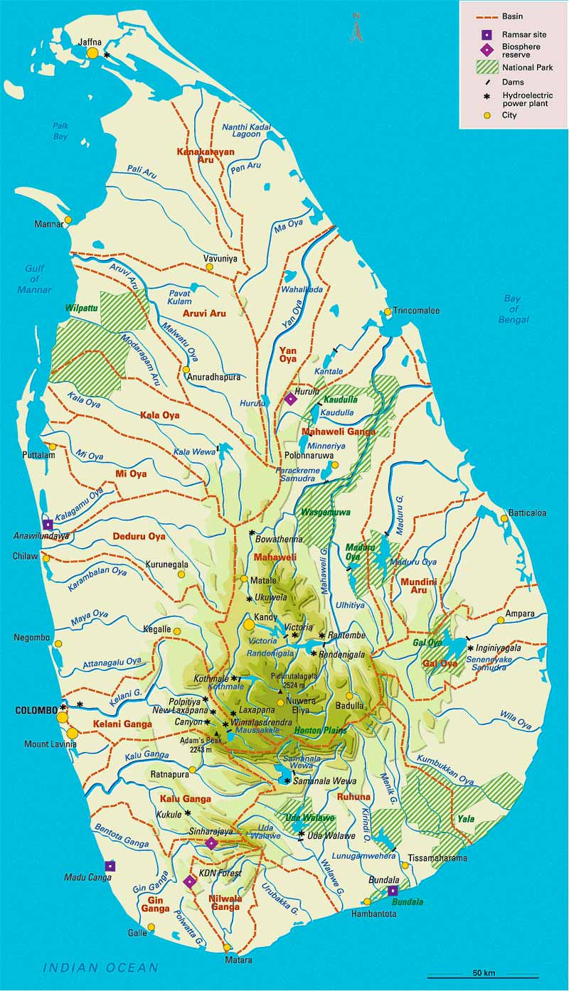 Sri Lanka Political Map.Maps Of Sri Lanka Map Library Maps Of The World