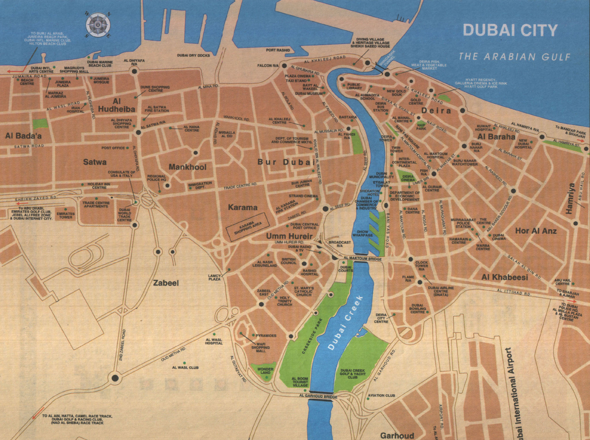 Maps of UAE (United Arab Emirates) | Map Library | Maps of the World