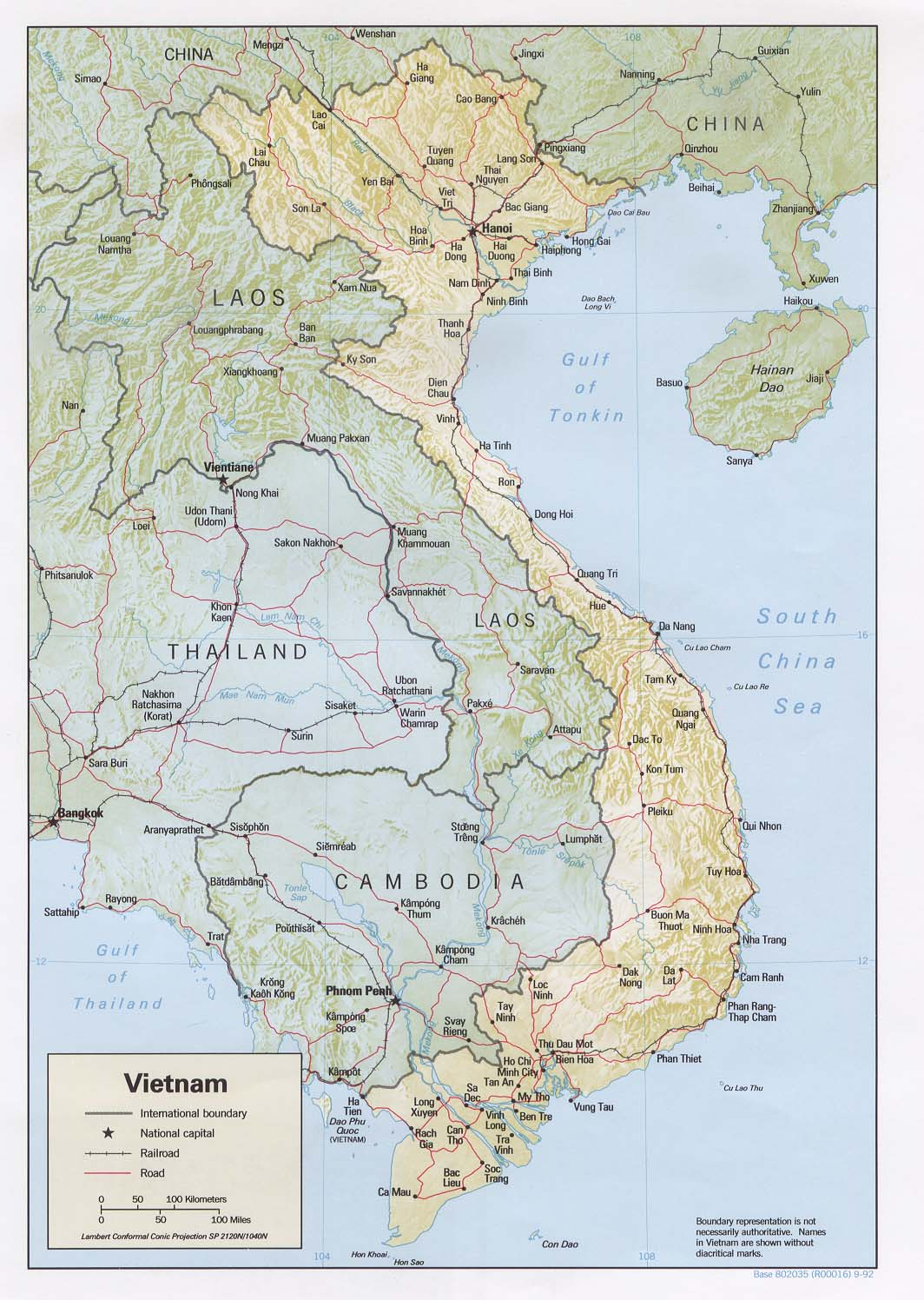 Maps of Vietnam Map Library Maps of the World