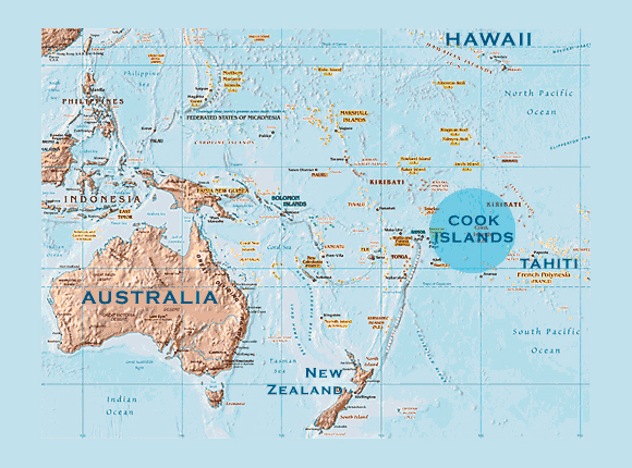 Maps of Cook Islands Map Library Maps of the World