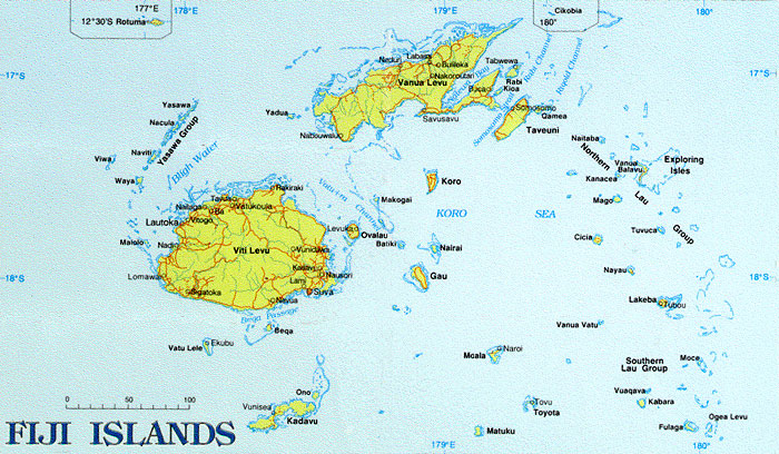 Maps of fiji map library maps of the world fiji islands map gumiabroncs Gallery