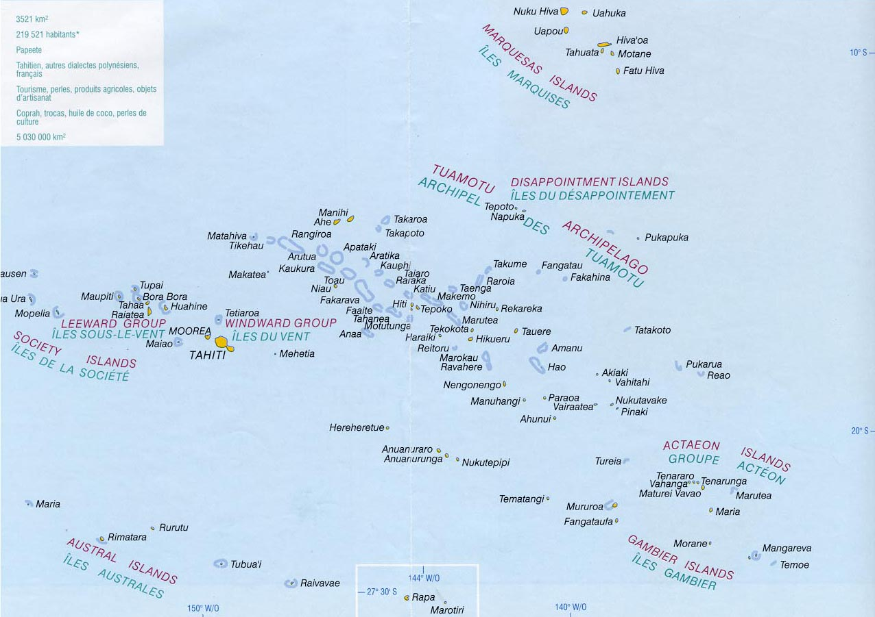 Maps Of French Polynesia Map Library Maps Of The World - French maps online