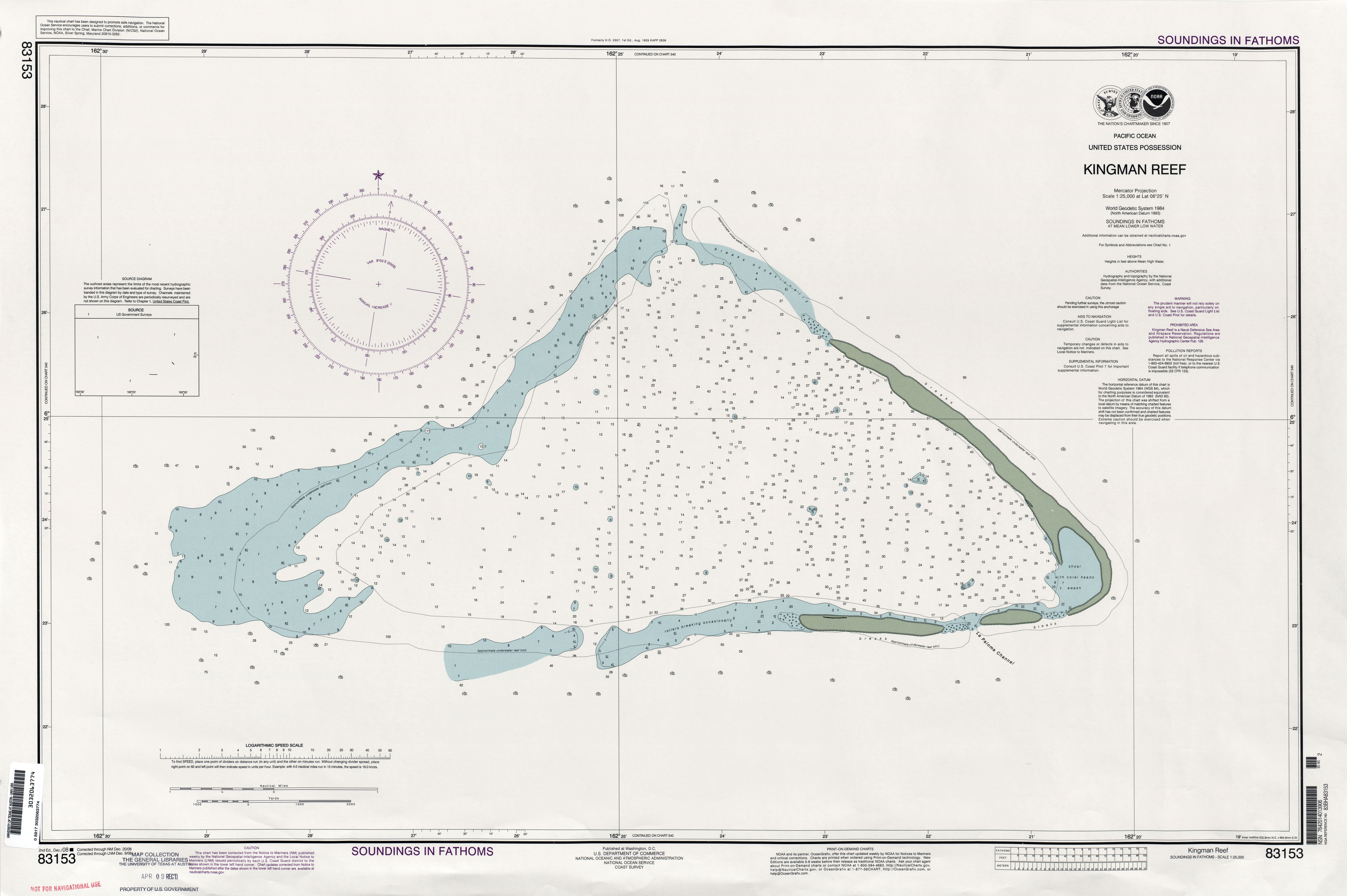 Maps of Kingman Reef Map Library Maps of the World