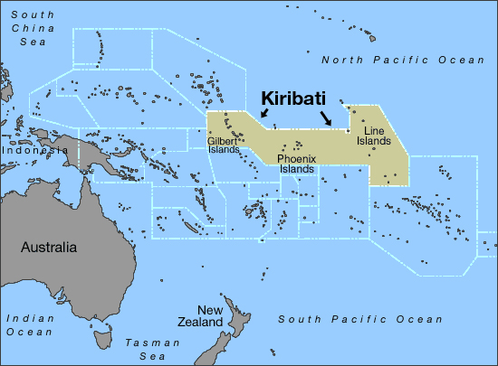 Maps of Kiribati Map Library Maps of the World
