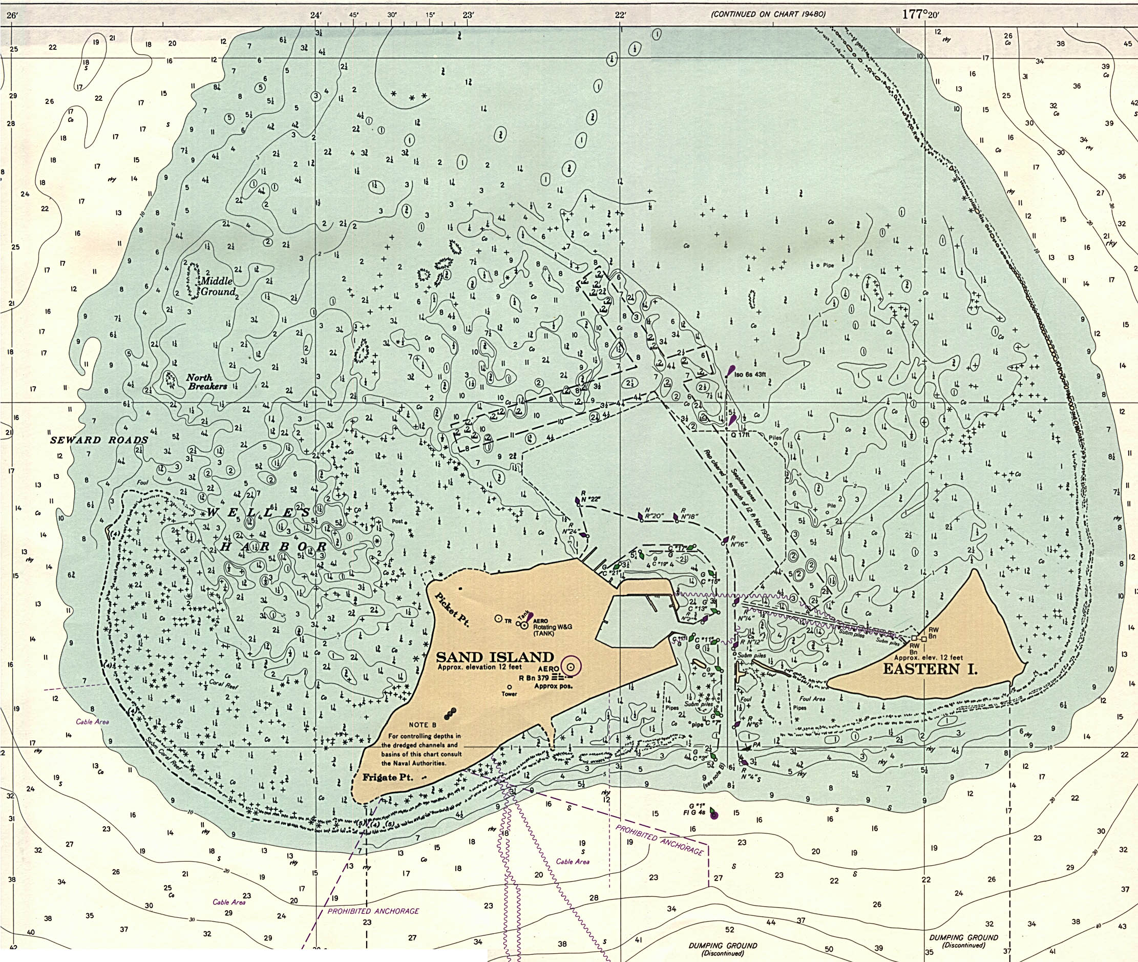 Maps of Midway Islands Map Library Maps of the World
