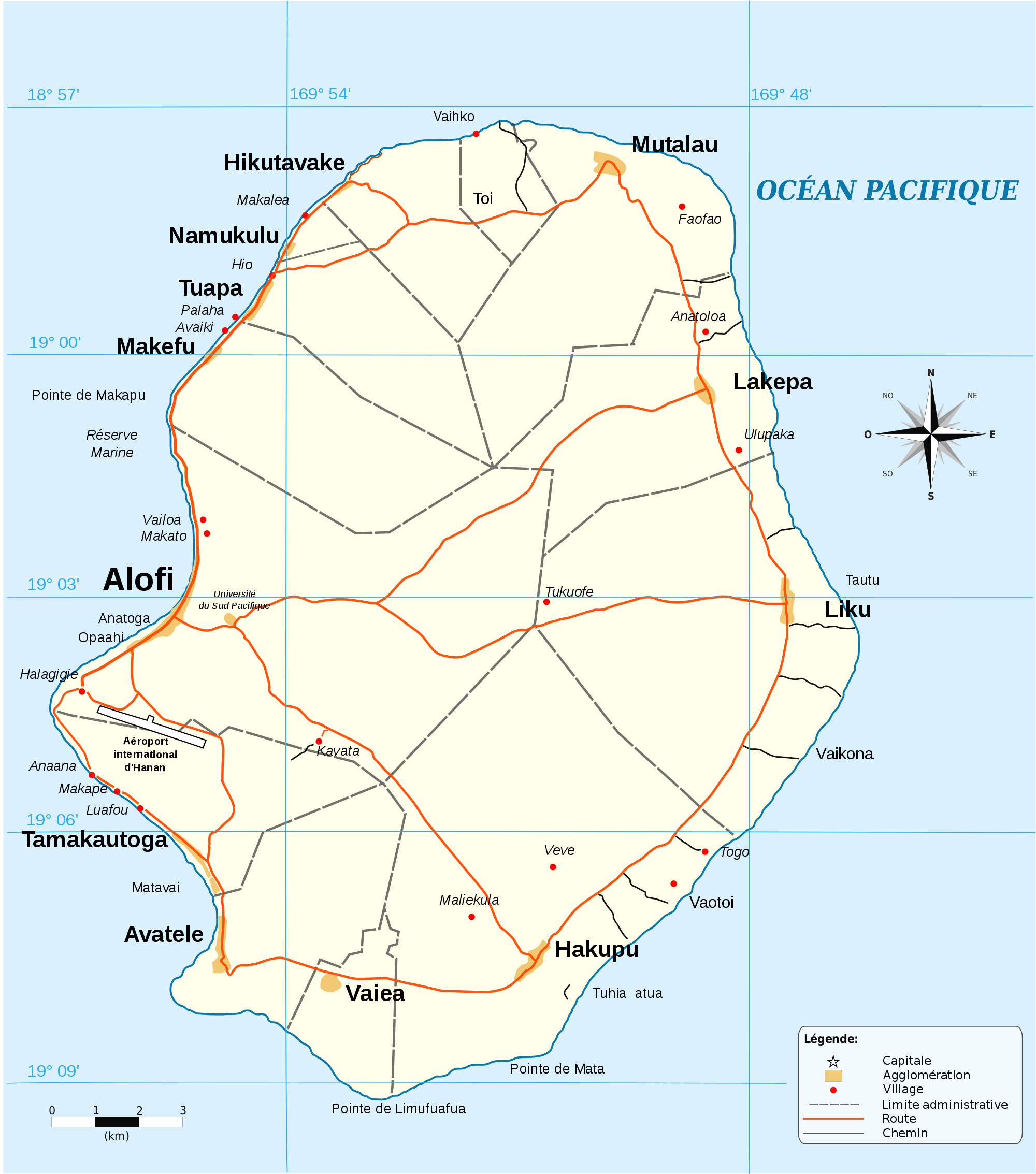 Maps of Niue Map Library Maps of the World