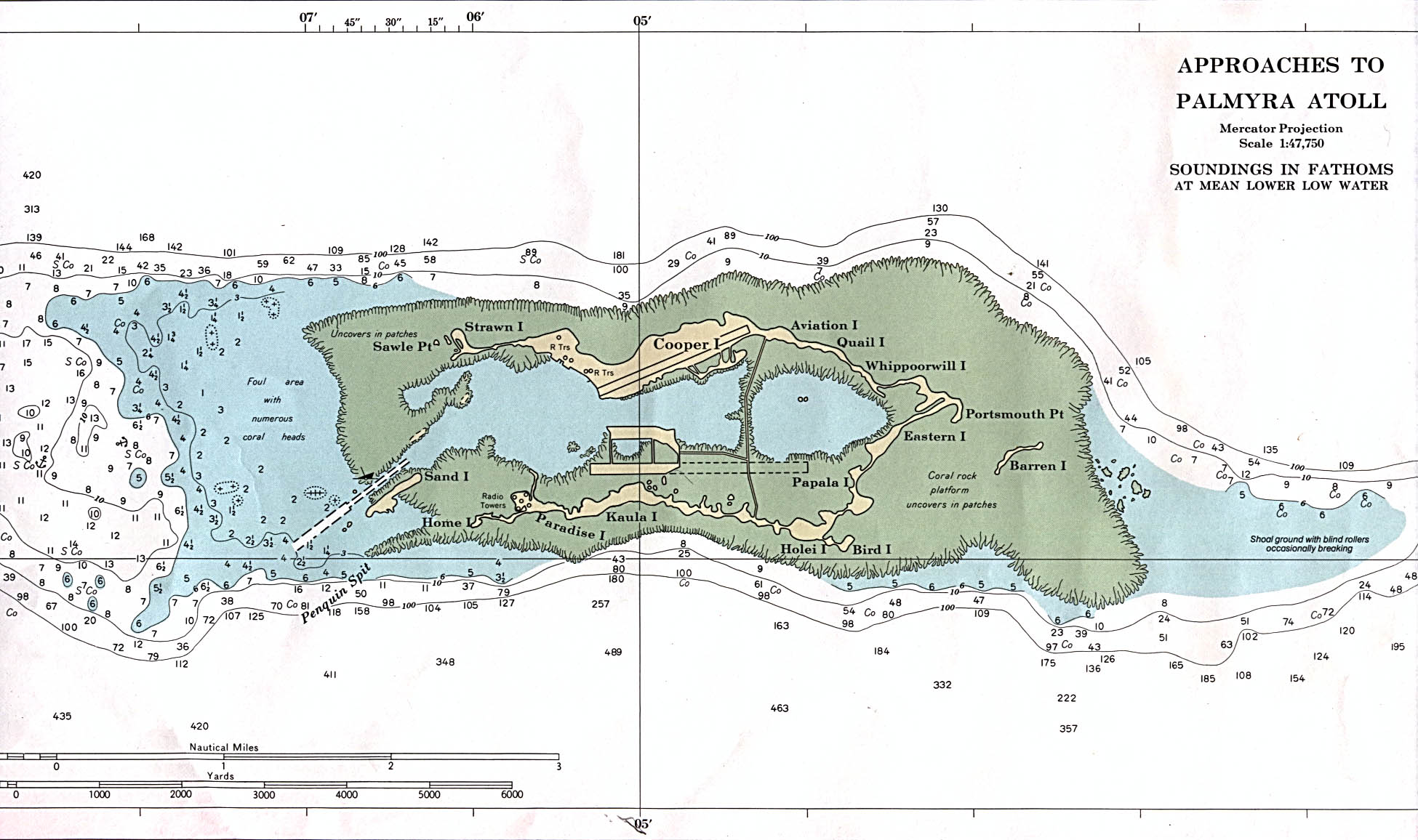 Maps of Palmyra Atoll Map Library Maps of the World