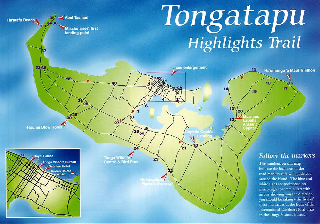 Maps of Tonga Map Library Maps of the World