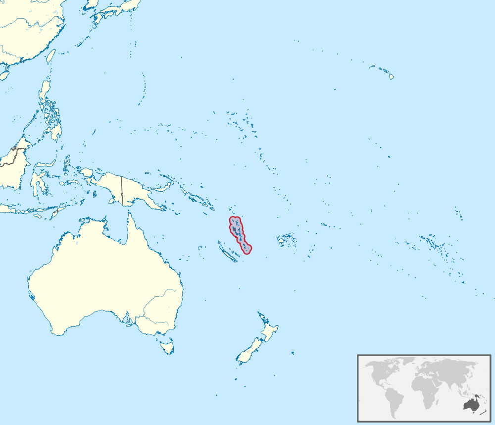 Maps Of Vanuatu Map Library Maps Of The World - Vanuatu map