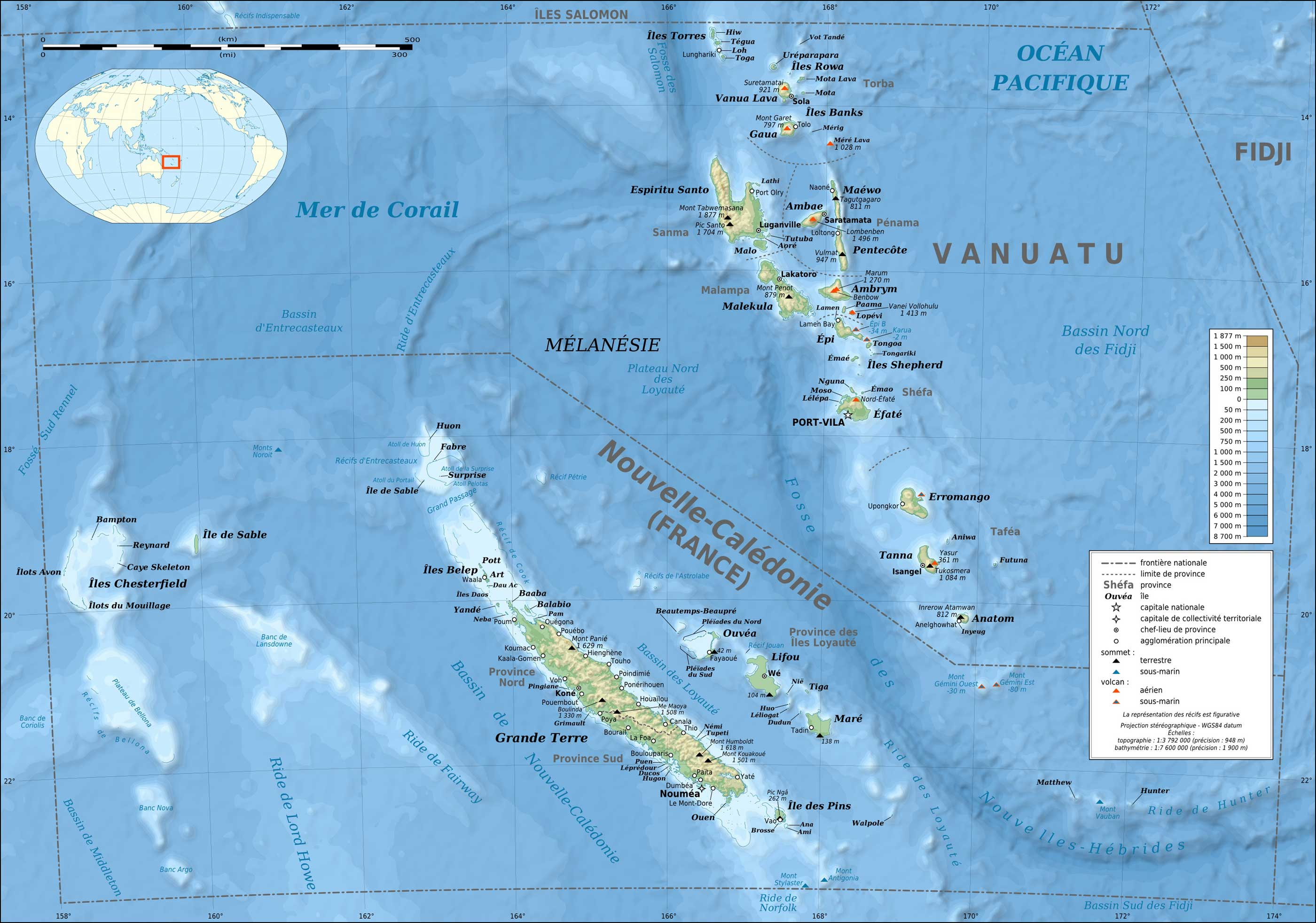 Maps of Vanuatu Map Library Maps of the World