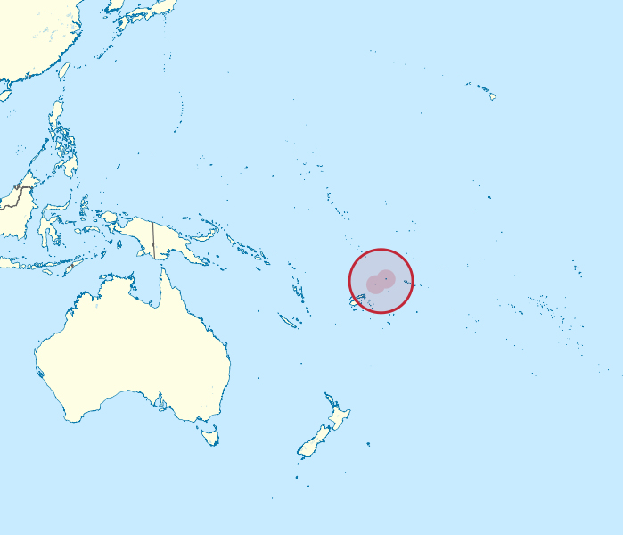 Maps Of Wallis And Futuna Map Library Maps Of The World - Wallis and futuna map