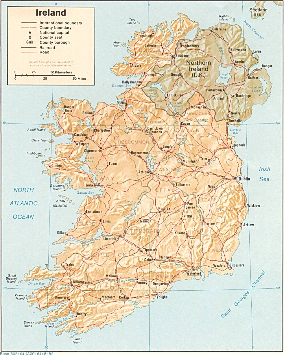 Maps of Ireland Map Library Maps of the World