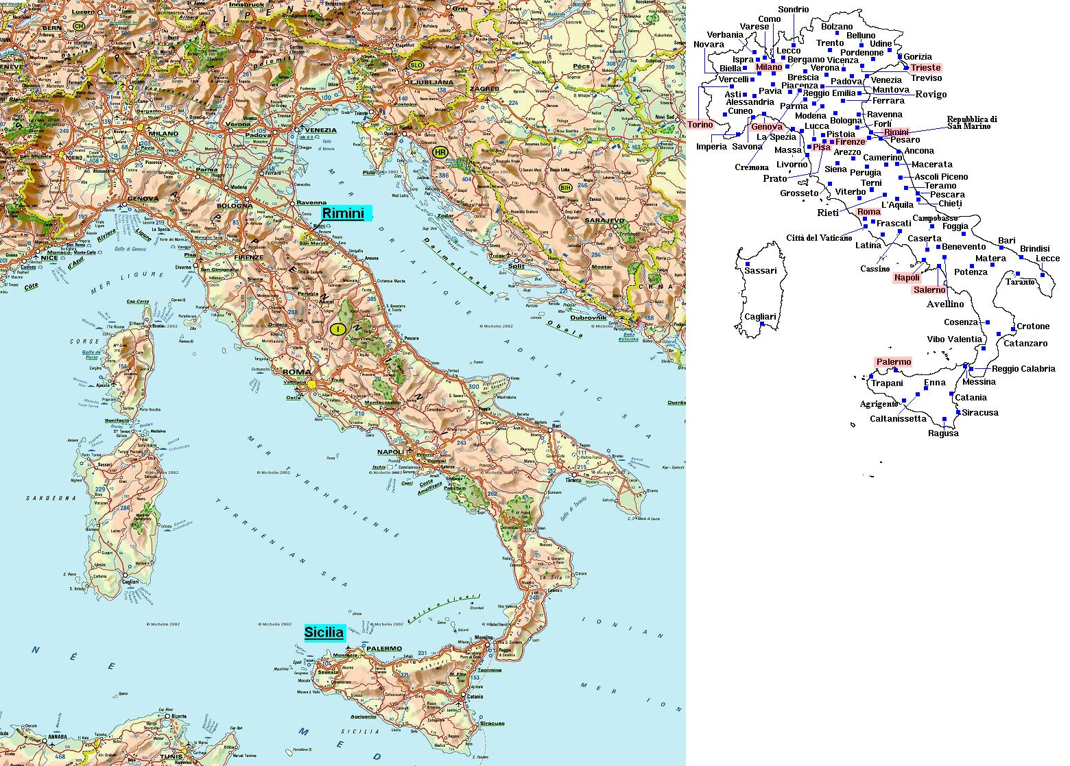 Map Of Cities Italy.Maps Of Italy Map Library Maps Of The World
