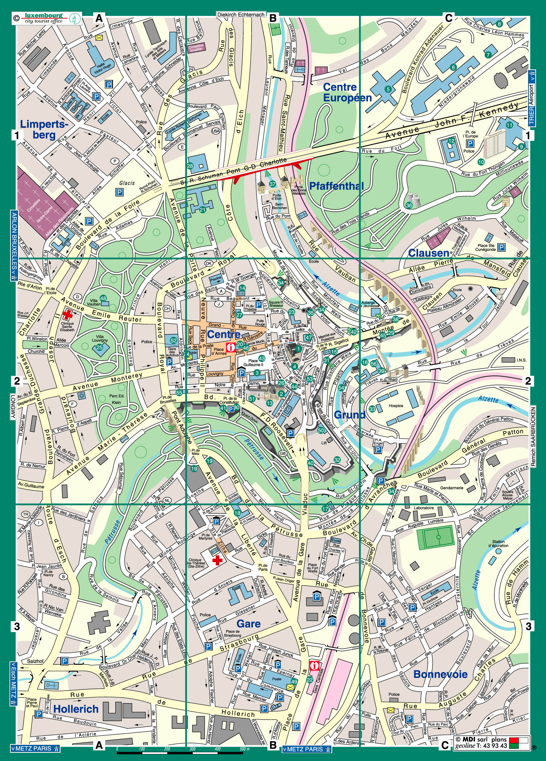 Maps Of Luxembourg Map Library Maps Of The World