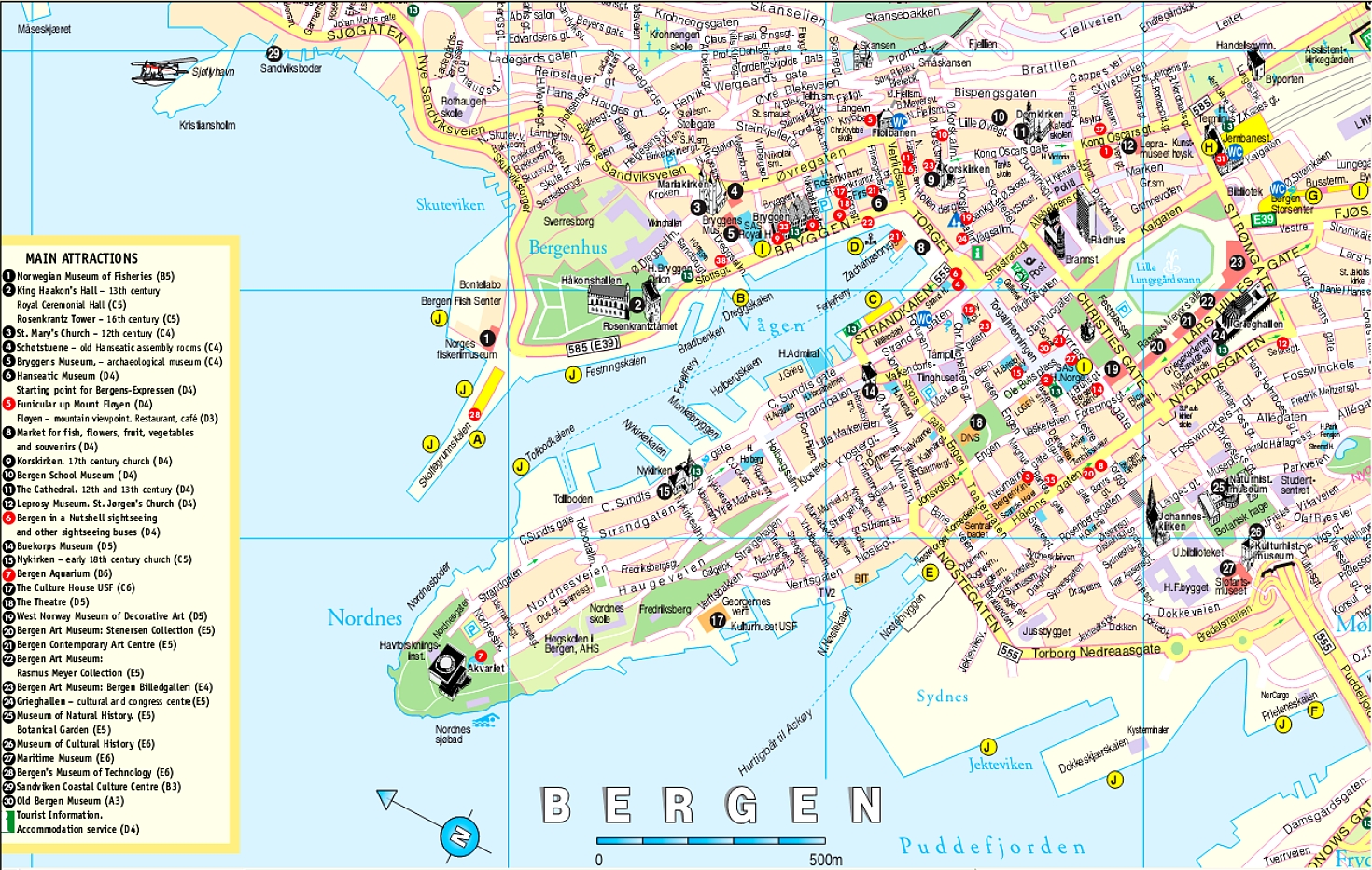 Maps Of Norway Map Library Maps Of The World - Map of cities in norway