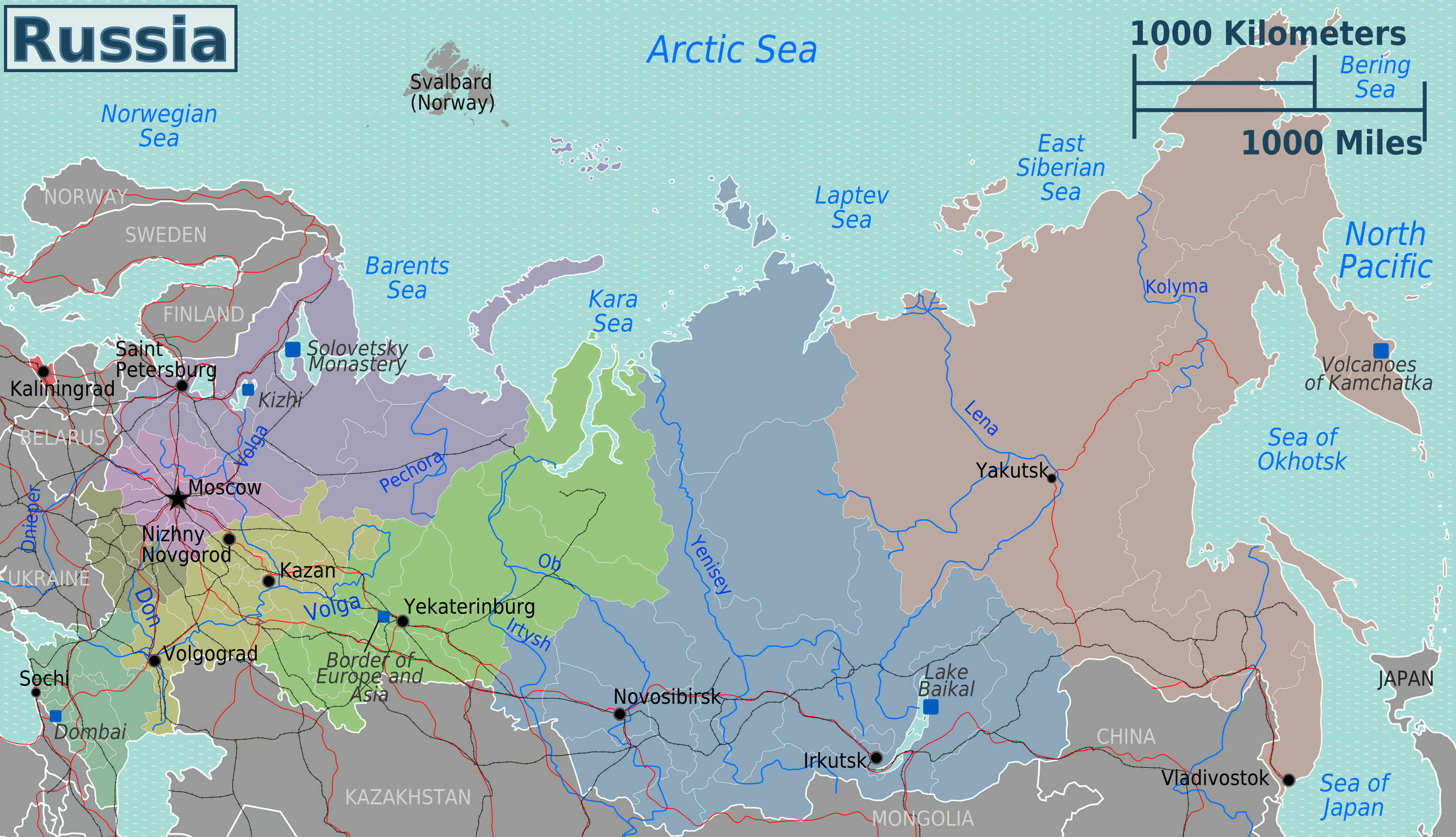 Maps of Russia | Map Library | Maps of the World