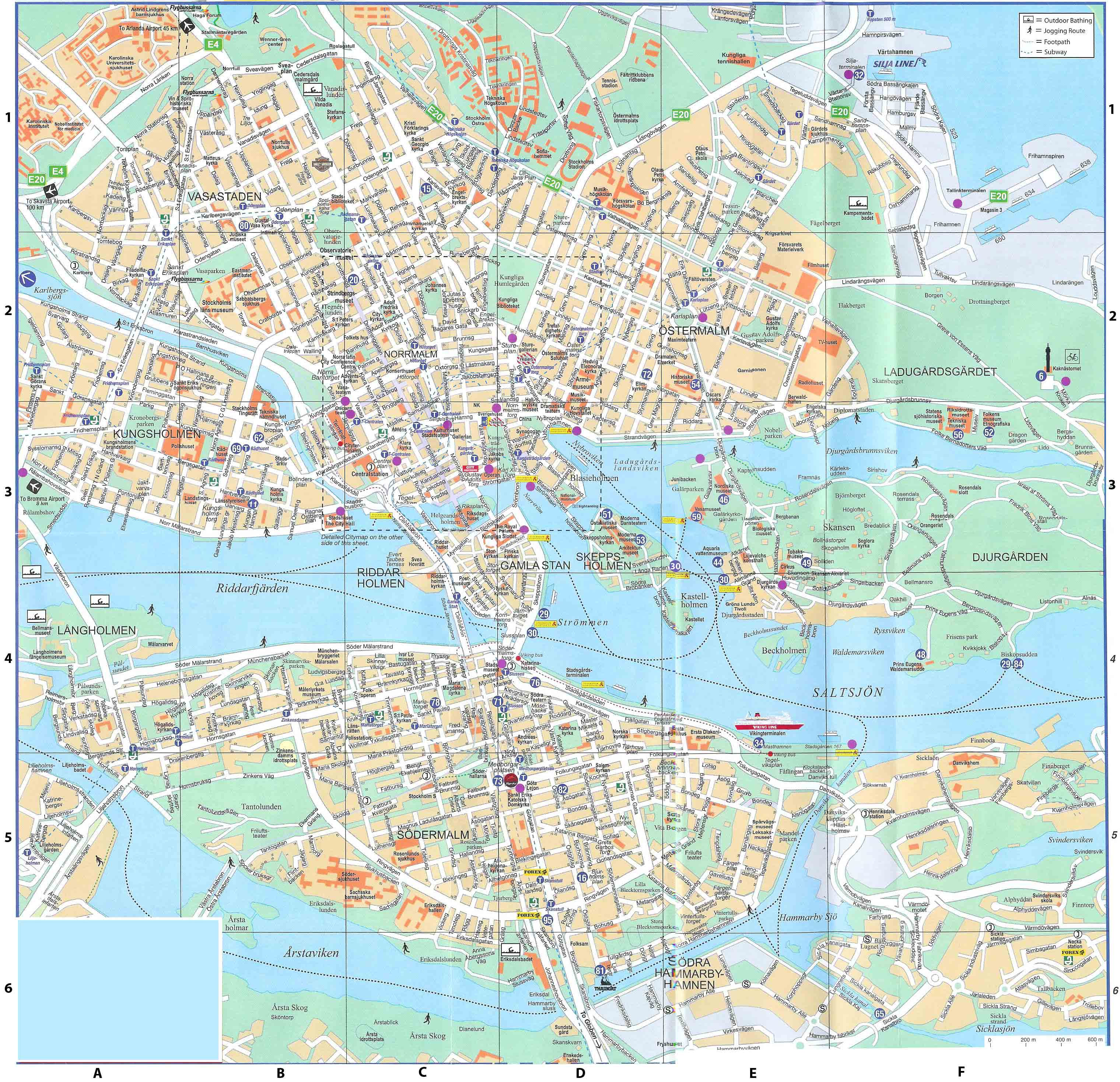 Maps Of Sweden Map Library Maps Of The World - Sweden map city