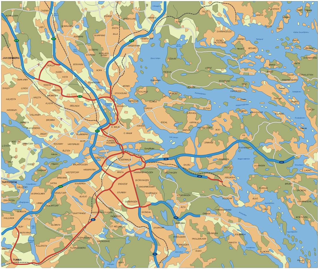 Maps Of Sweden Map Library Maps Of The World - Sweden map pdf