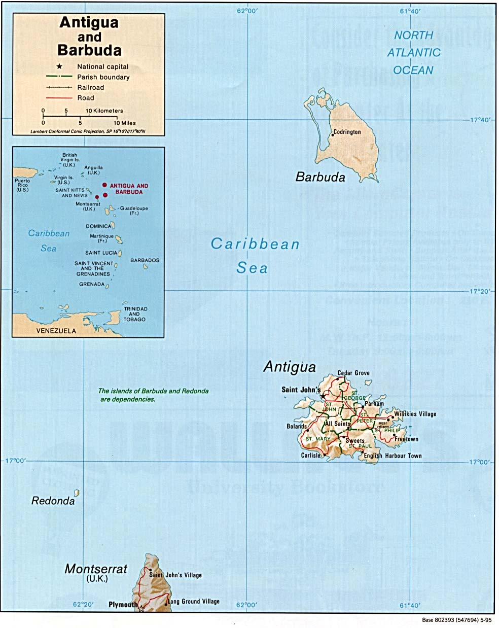 Maps of Antigua and Barbuda Map Library Maps of the World