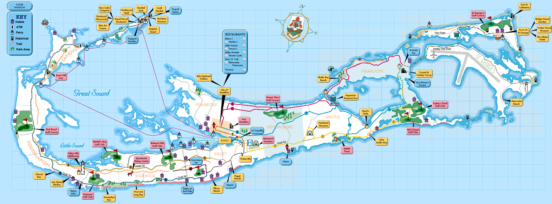 Maps of Bermuda Map Library Maps of the World