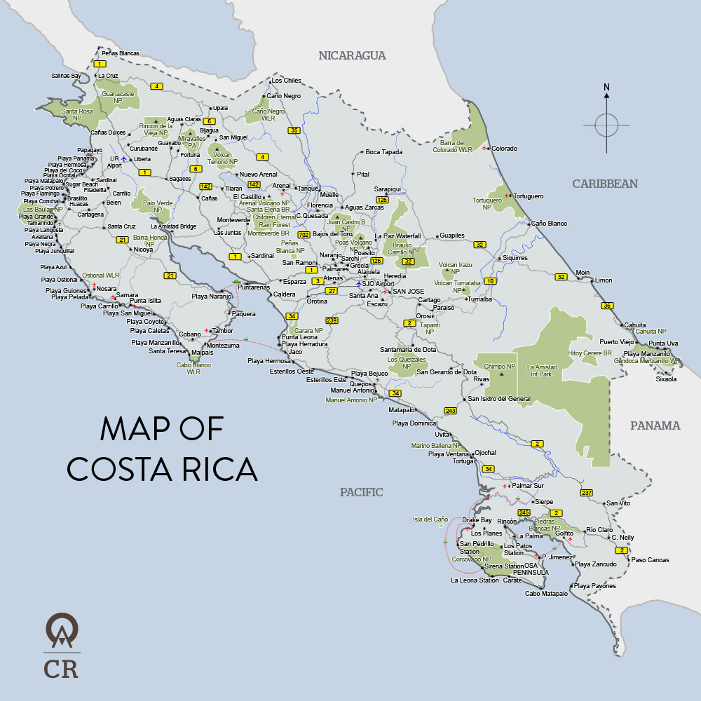 a geographical overview of costa rica a country of central america This lesson explores the region of central america it discusses how it has been impacted by european colonization, its categorization as part of.