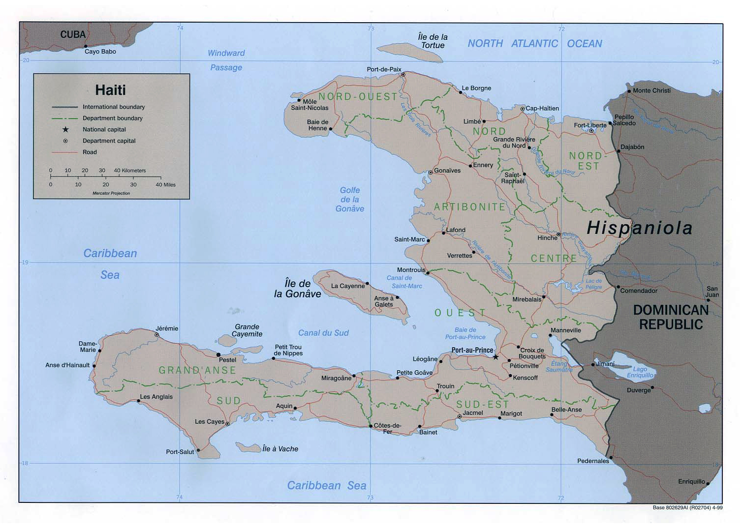 Maps of Haiti Map Library Maps of the World