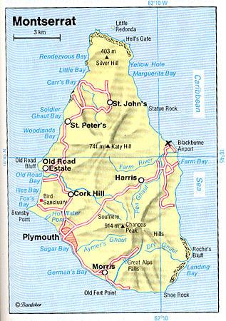 Big Island Street Map