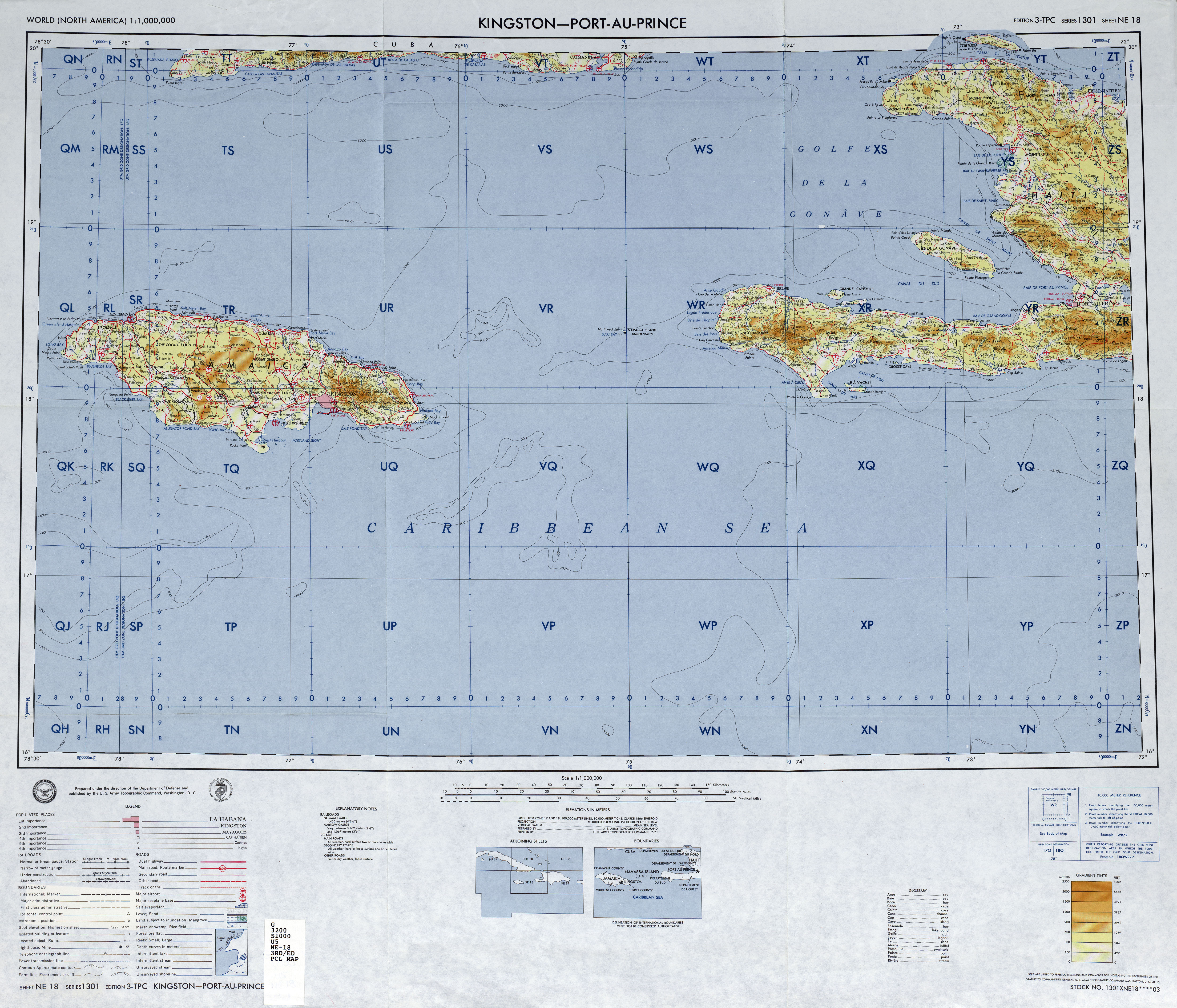 Maps of Navassa Island Map Library Maps of the World
