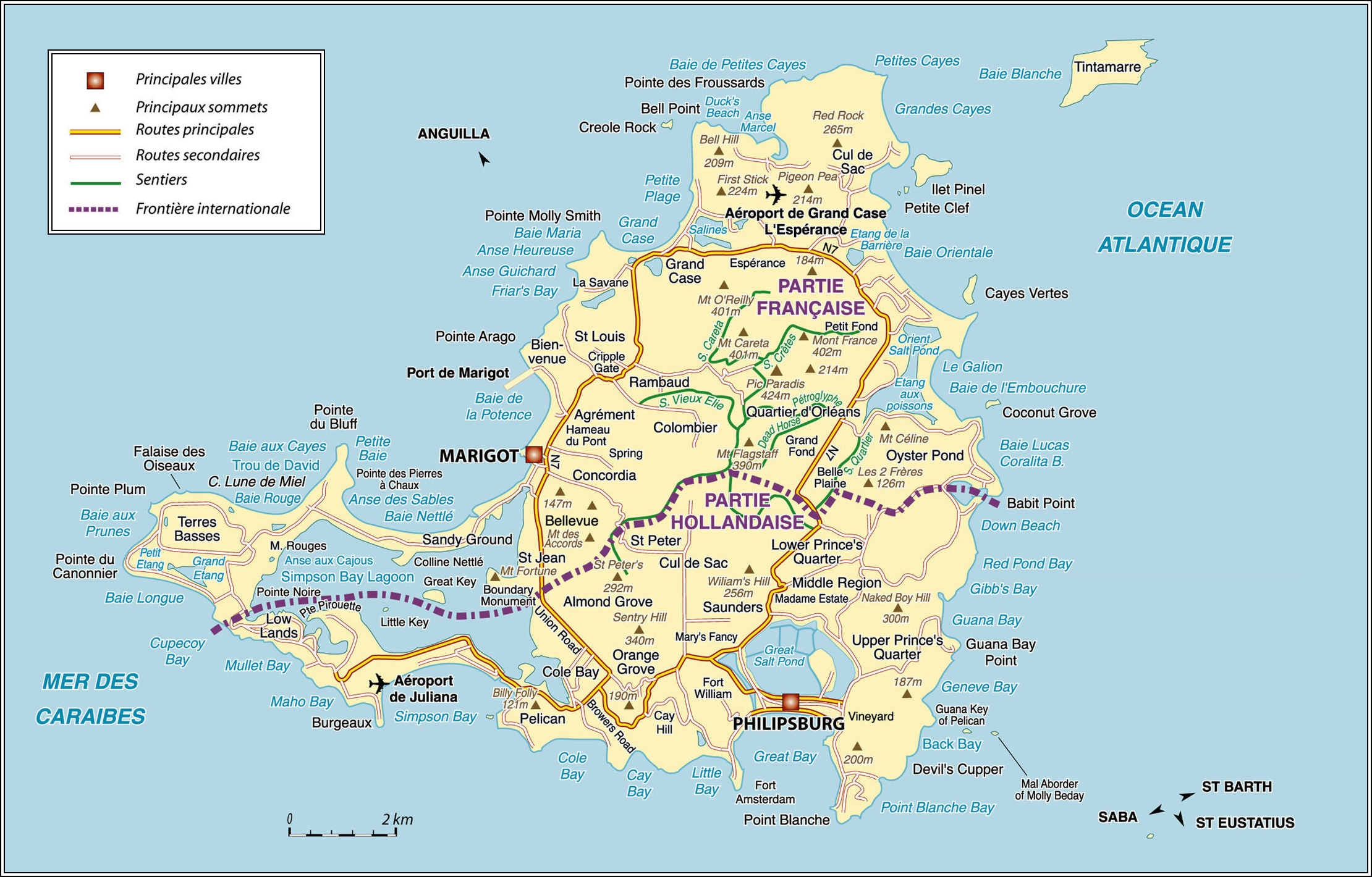 Maps of Netherlands Antilles  Map Library  Maps of the World